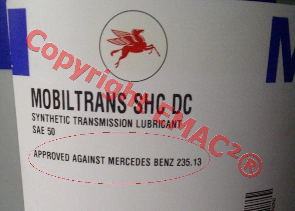 MobilTrans SHC DC G56 MB Specification